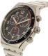 Swatch Men's Chrono YVS426G Silver Stainless-Steel Swiss Quartz Watch - Side Image Swatch