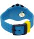 Swatch Men's Chrono Plastic SUSS100 Blue Silicone Swiss Quartz Watch - Back Image Swatch