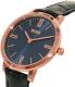 Hugo Boss Women's 1502392 Blue Leather Quartz Watch - Side Image Swatch