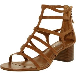 Lauren Ralph Lauren Women's Madge Leather Ankle-High Leather Sandal