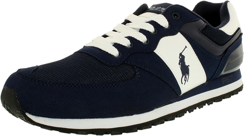 8af38fcc40eb Polo Ralph Lauren Mens Slaton Fashion Sneaker