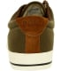 Polo Ralph Lauren Men's Vaughn Canvas/Suede Ankle-High Fabric Flat Shoe - Back Image Swatch