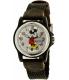 Disney Women's Mickey Mouse MCK620 Black Nylon Analog Quartz Watch - Main Image Swatch