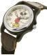 Disney Women's Mickey Mouse MCK620 Black Nylon Analog Quartz Watch - Side Image Swatch