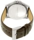 Kenneth Cole Men's New York 10027417 Silver Leather Quartz Watch - Back Image Swatch