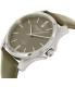 Kenneth Cole Men's New York 10027419 Grey Leather Quartz Watch - Side Image Swatch