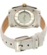 Kenneth Cole Women's New York 10027848 White Leather Quartz Watch - Back Image Swatch