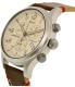Timex Men's Expedition TW4B04300 Beige Leather Analog Quartz Watch - Side Image Swatch