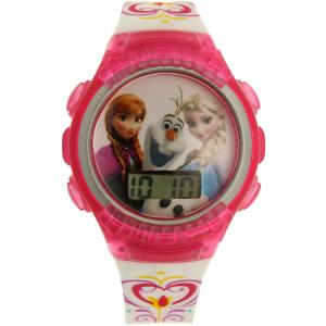 Disney Girl's Frozen FNFKD062 Pink Plastic Quartz Watch