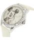 Disney Women's Mickey Mouse MCKAQ1306S White Leather Analog Quartz Watch - Side Image Swatch