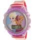 Disney Girl's Frozen FNFKD013 Purple Rubber Quartz Watch - Main Image Swatch