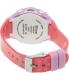 Disney Girl's Frozen FNFKD013 Purple Rubber Quartz Watch - Back Image Swatch