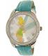 Disney Women's Tinkerbell TNK529 Blue Leather Analog Quartz Watch - Main Image Swatch