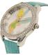 Disney Women's Tinkerbell TNK529 Blue Leather Analog Quartz Watch - Side Image Swatch