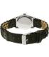 Disney Women's Mickey Mouse MCKAQ1479 Black Leather Analog Quartz Watch - Back Image Swatch