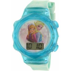 Disney Girl's Frozen FNFKD120 Blue Plastic Quartz Watch