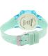 Disney Girl's Frozen FNFKD120 Blue Plastic Quartz Watch - Back Image Swatch