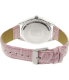 Disney Girl's Tinkerbell TNK612 Pink Leather Quartz Watch - Back Image Swatch