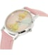 Disney Girl's Tinkerbell TNK485L Pink Plastic Quartz Watch - Side Image Swatch
