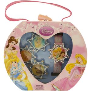 Disney Girl's Disney Princess PRS035T Pink Plastic Quartz Watch