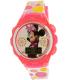 Disney Girl's Minnie Mouse MINKD360KM Pink Plastic Quartz Watch - Main Image Swatch