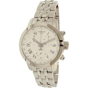 Tissot Men's T-Sport T055.217.11.033.00 Silver Stainless-Steel Swiss Chronograph Watch