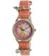 Disney Women's Tinkerbell TNK555 Pink Leather Analog Quartz Watch - Main Image Swatch