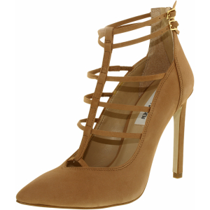 Steve Madden Women's Prazed Nubuck Ankle-High Suede Pump
