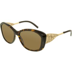 Burberry Women's  BE4208Q-300273-57 Tortoiseshell Square Sunglasses