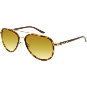 Michael Kors Women's Gradient Playa Norte MK5006-10342L-57 Tortoiseshell Aviator Sunglasses
