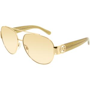 Michael Kors Women's Tabitha MK5012-1066R1-59 Rose Gold Aviator Sunglasses