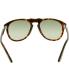 Persol Men's  PO0649-24/31-52 Tortoiseshell Square Sunglasses - Back Image Swatch