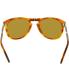 Persol Men's  PO0714-96/33-54 Tortoiseshell Aviator Sunglasses - Back Image Swatch