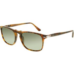 Persol Men's Polarized  PO3059S-108/58-54 Tortoiseshell Rectangle Sunglasses