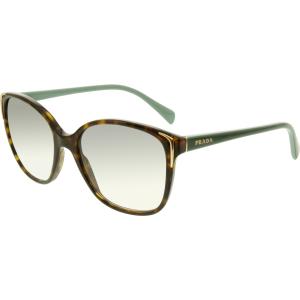 Prada Women's Gradient  PR01OS-2AU1E0-55 Tortoiseshell Butterfly Sunglasses