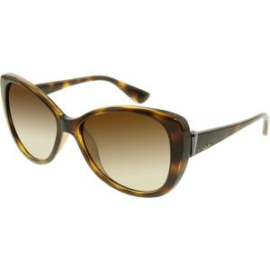 Vogue Women's Gradient  VO2819S-W65613-58 Tortoiseshell Butterfly Sunglasses