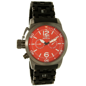 Invicta Men's Sea Spider 80053 Gunmetal Polyurethane Swiss Quartz Watch