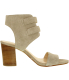 Nine West Women's Galiceno Suede Ankle-High Suede Sandal - Side Image Swatch