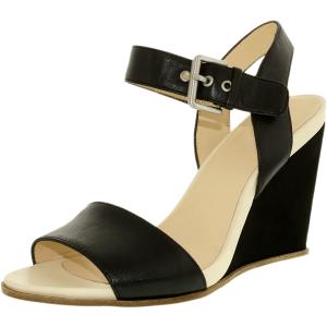 Nine West Women's Gronigen Leather Ankle-High Leather Sandal
