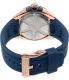 Seiko Men's SNP120 Blue Silicone Quartz Watch - Back Image Swatch