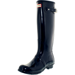 Hunter Women's Bota Original Tall Knee-High Rubber Rain Boot
