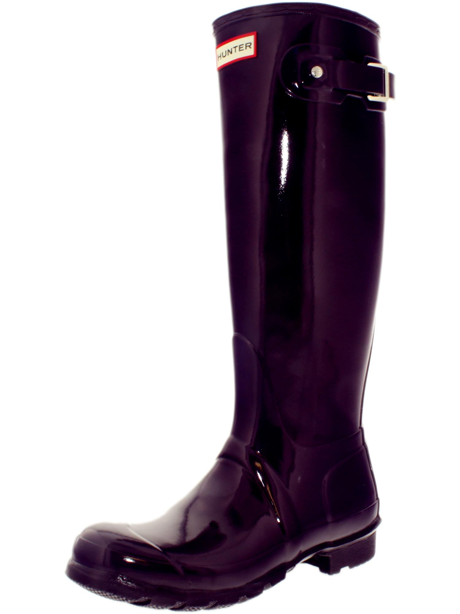 Hunter Women's Original Tall Knee-High Rubber Rain Boot | eBay