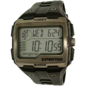 Timex Men's Expedition TW4B02500 Black Resin Quartz Watch