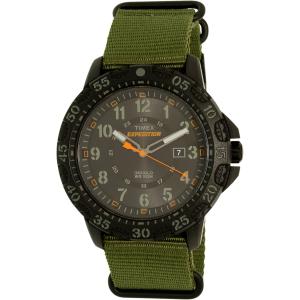 Timex Men's Expedition TW4B03600 Green Cloth Analog Quartz Watch