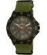 Timex Men's Expedition TW4B03600 Green Cloth Analog Quartz Watch - Main Image Swatch