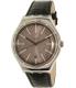 Swatch Men's Big YWS415 Black Leather Swiss Quartz Watch - Main Image Swatch