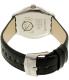 Swatch Men's Big YWS415 Black Leather Swiss Quartz Watch - Back Image Swatch