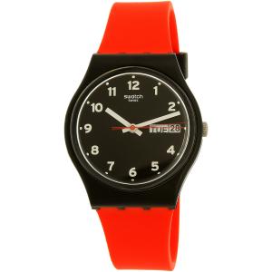 Swatch Men's Gent GB754 Red Silicone Quartz Watch