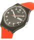 Swatch Men's Gent GB754 Red Silicone Quartz Watch - Side Image Swatch