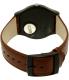 Swatch Men's New Gent SUOB721 Brown Leather Swiss Quartz Watch - Back Image Swatch